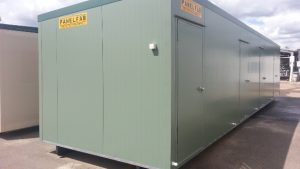 12.040M X 3.070M Portable Bunkhouse