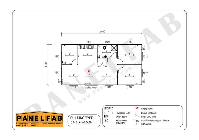 Portable 3 Bedroom Granny Flat Diagram